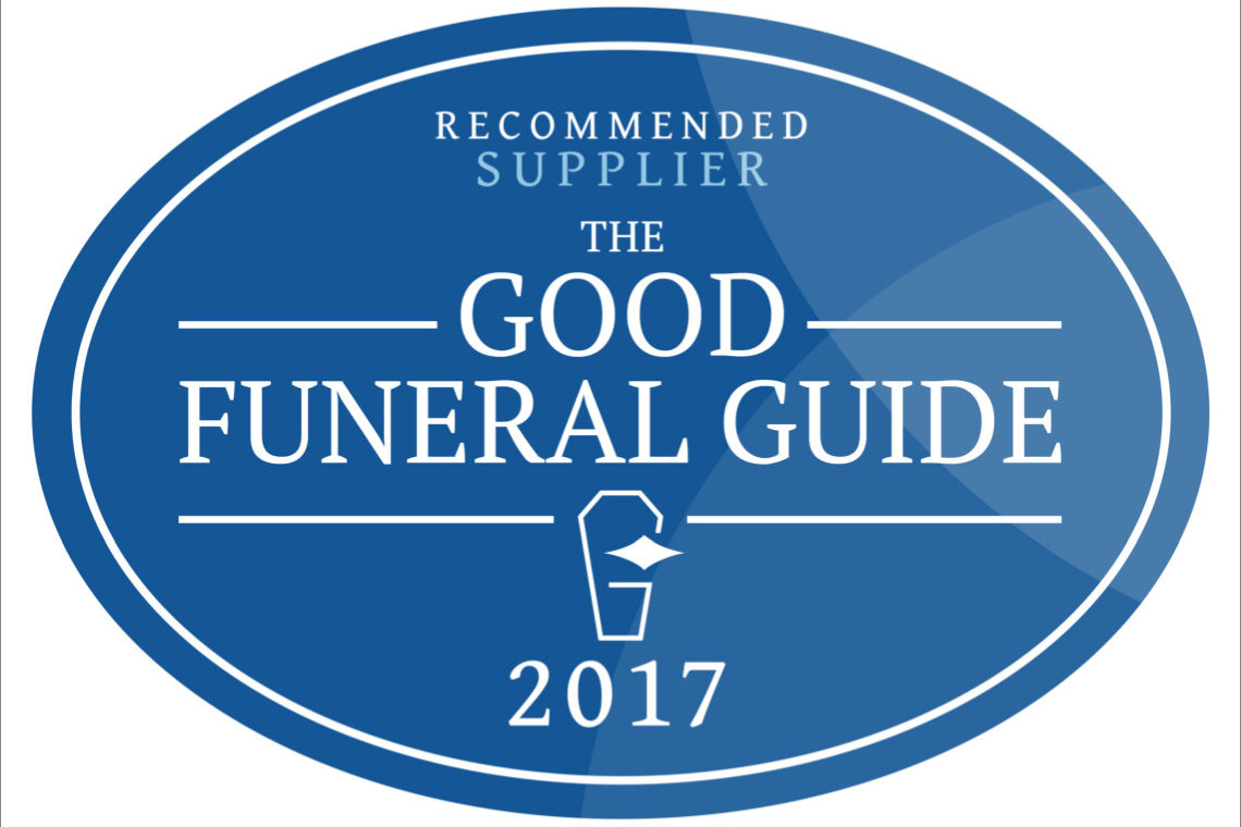 Recommended by the Good Funeral Guide 2017